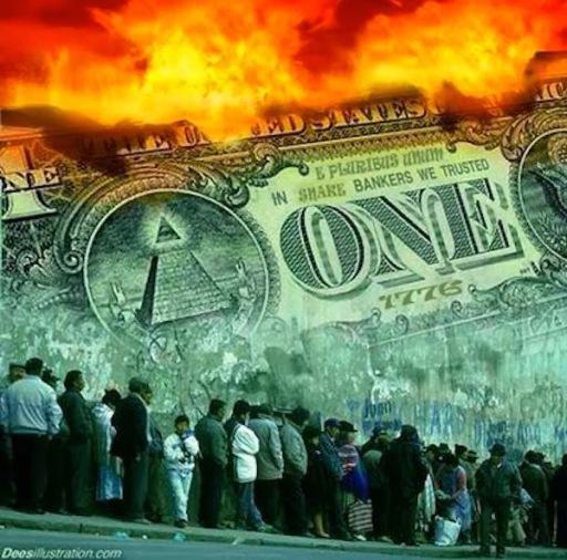 Η πυραμίδα του χρέους καταρρέει πάντα από την κορυφή