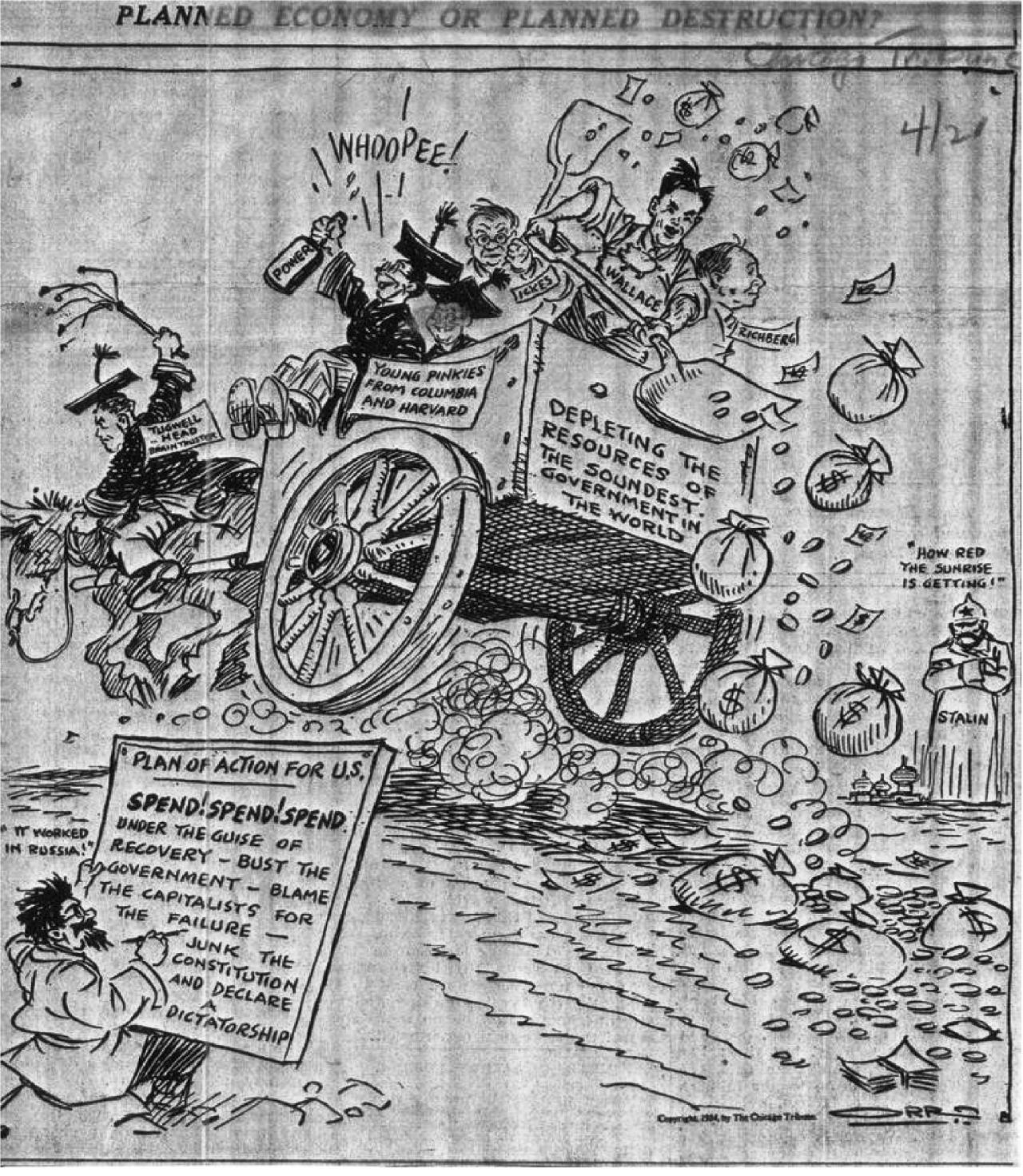 Εικόνα 1 Γελοιογραφία του 1934