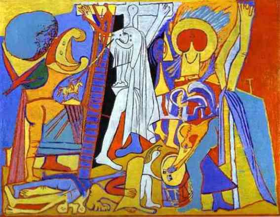PabloPicasso-Crucifixion-1930_567x440