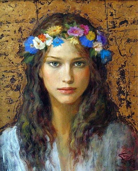 517574-Goyo Dominguez 1960 - Spanish-born British Romantic Realist painter - Tutt'Art@ (25)