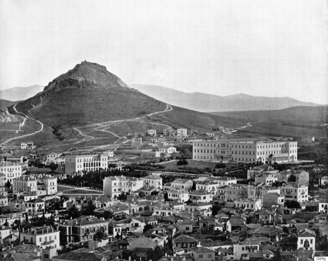 Athens, Greece, 1893. Illustration from Portfolio of Photographs of Famous Cities, Scenes and Paintings, (The Werner Company, Chicago, c1893). (Photo by The Print Collector/Print Collector/Getty Images)
